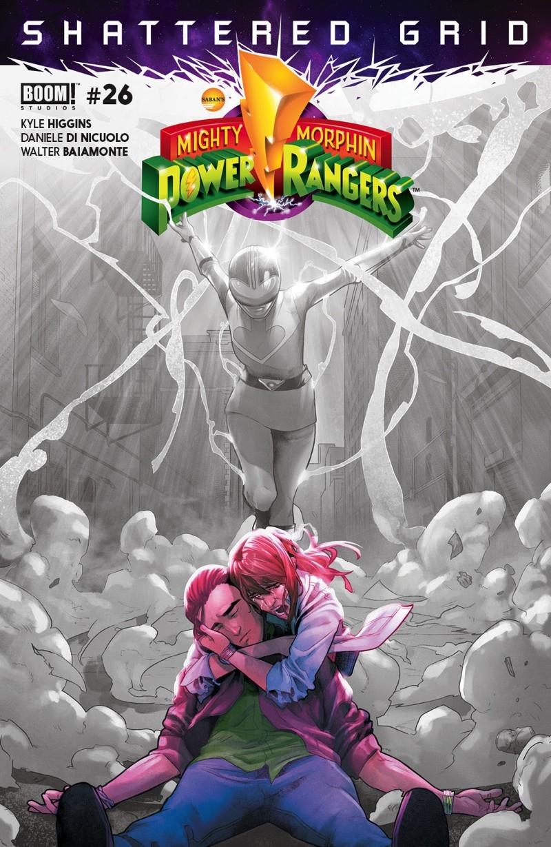 Power Rangers: Shattered Grid S - comicbuzz | ello