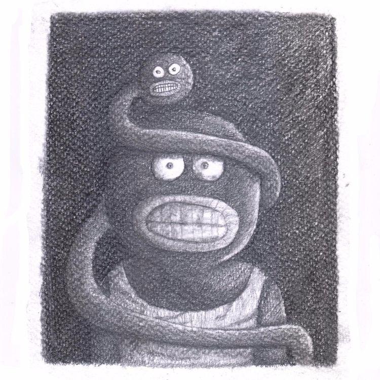 Black head Snake flow social ne - babakesmaeli | ello
