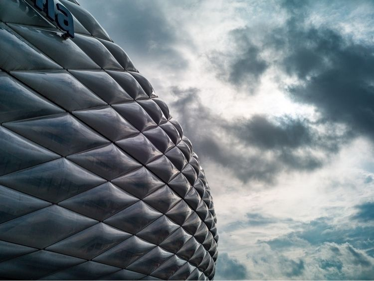 munich, stadium, clouds - heipert | ello