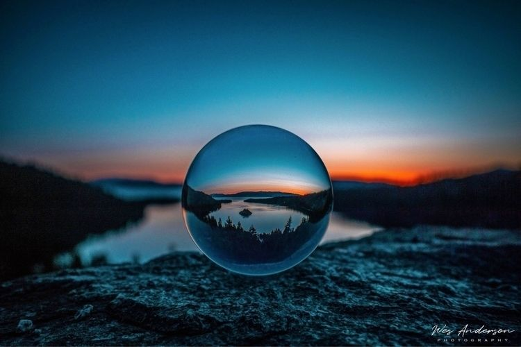 Emerald Bay Sunrise - wesandersonphotography   ello