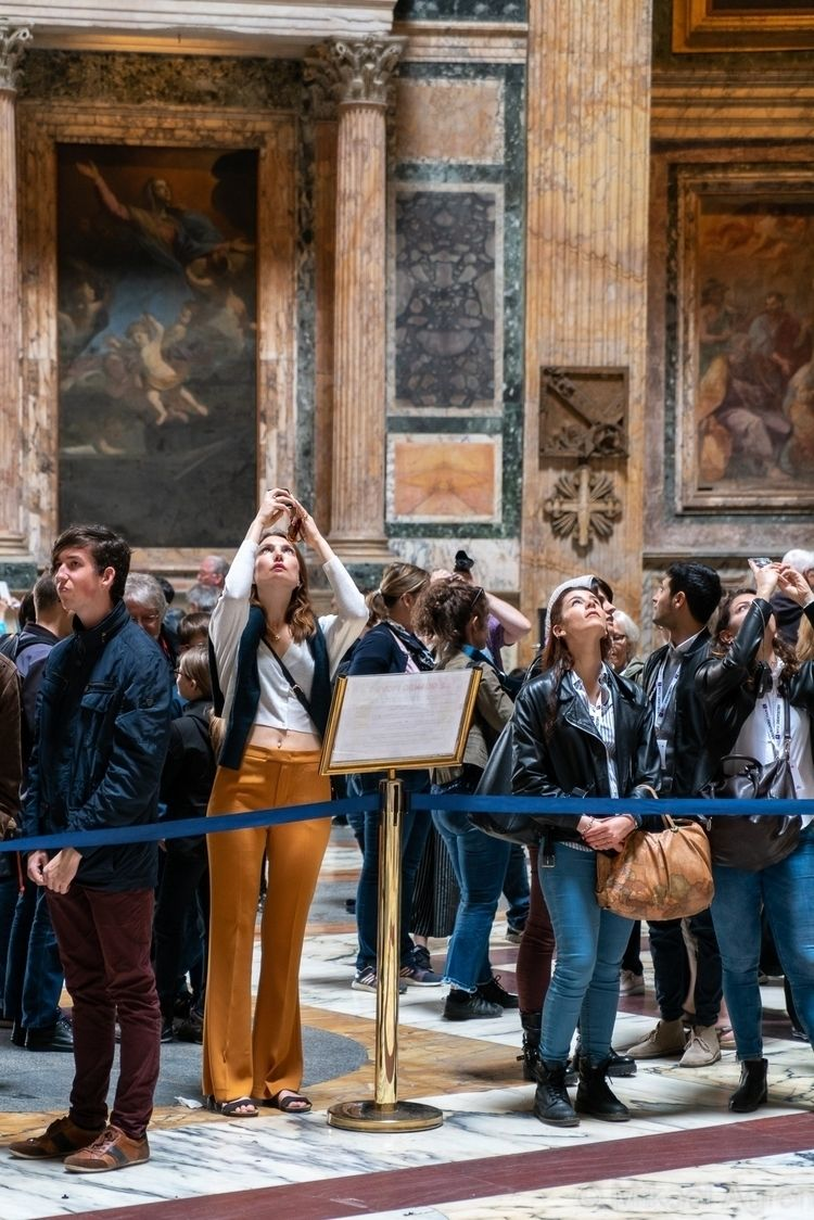streetphotography, rome, pantheon - mikael_agren_photography | ello