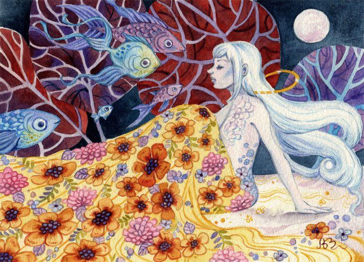 Strange Song' Ania Mohrbacher,  - geekynerfherder   ello