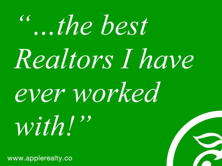 good customer service… → - thereisadifference - applerealty | ello
