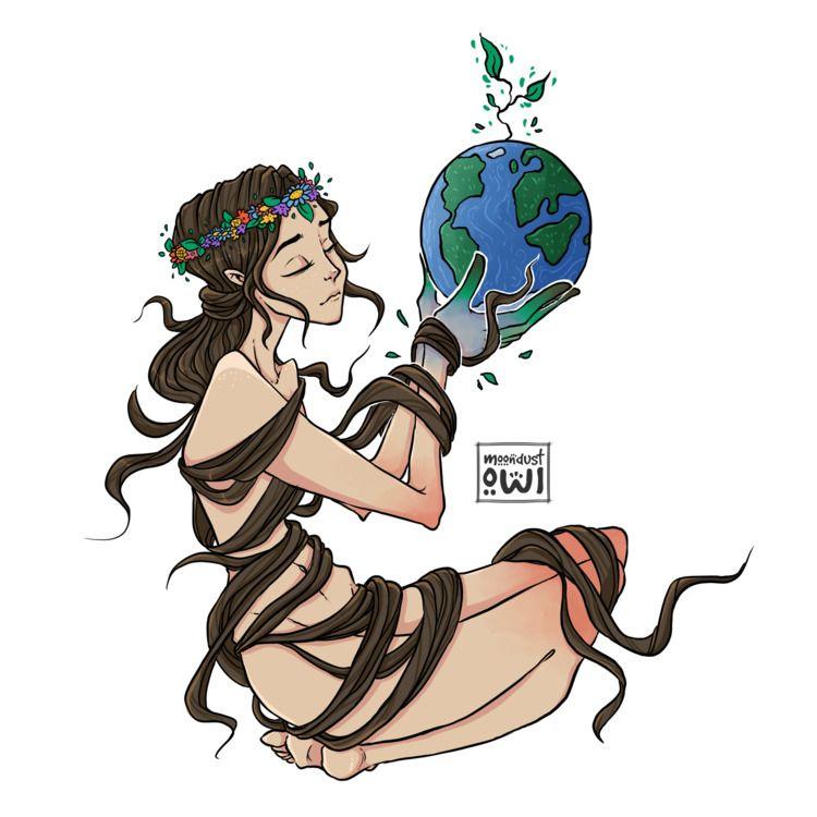 Gaia - energy love alive... won - moondustowl | ello