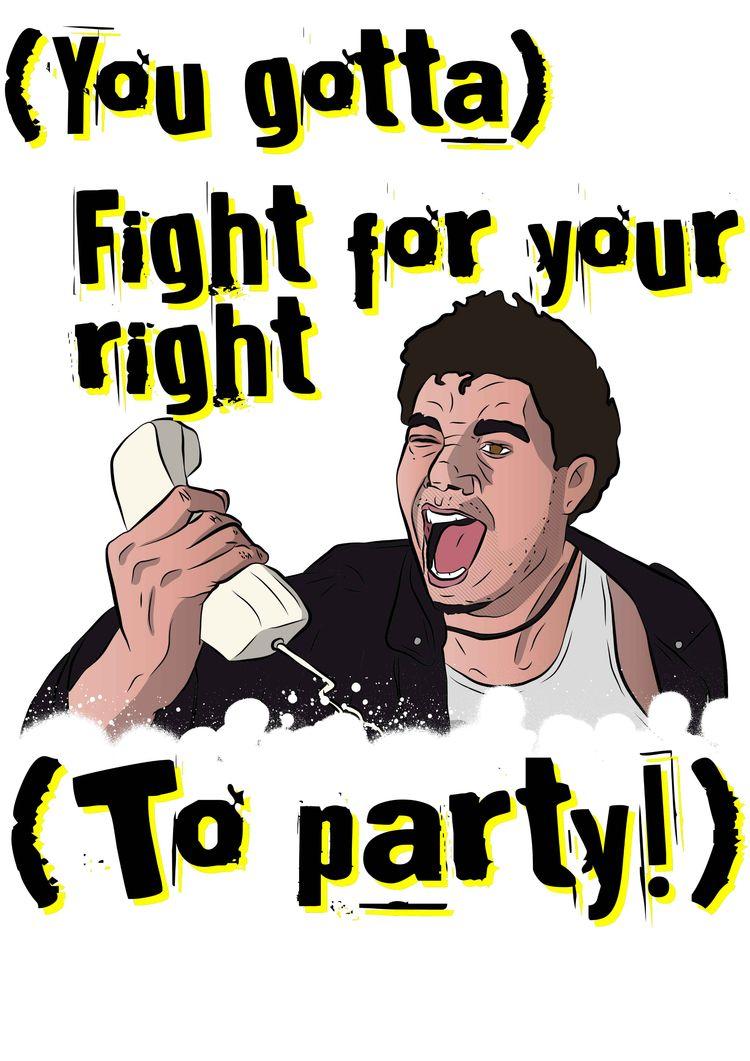BeastieBoys, FightForYourRights - herrralf | ello