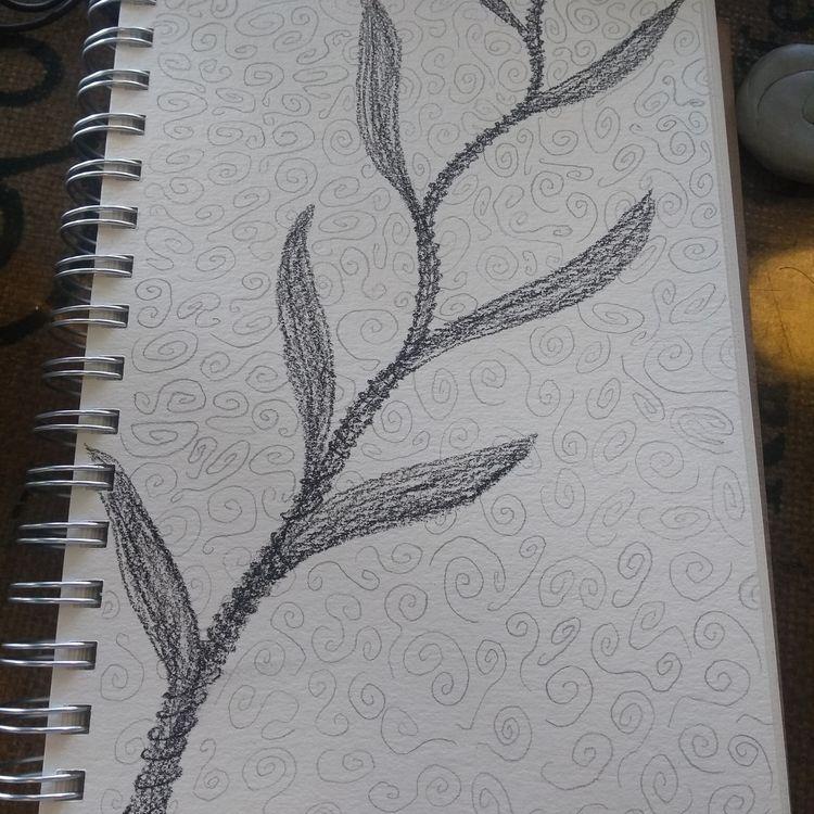 Contemplation doodle - fangrenew | ello