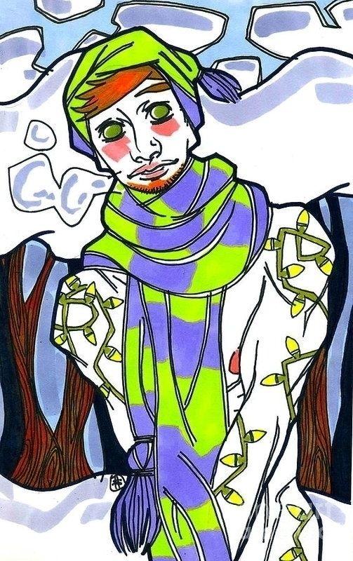 Snow!! Original Artwork, Prints - shedges | ello