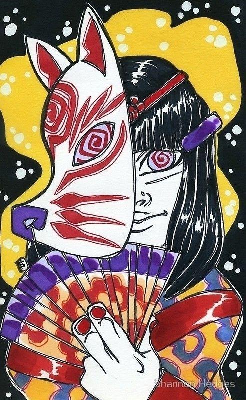 Artwork: Inugami!! Art Prints,  - shedges | ello