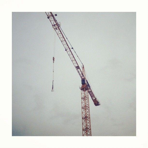 Cranes Sky. San Francisco, CA - hercuriouslens | ello