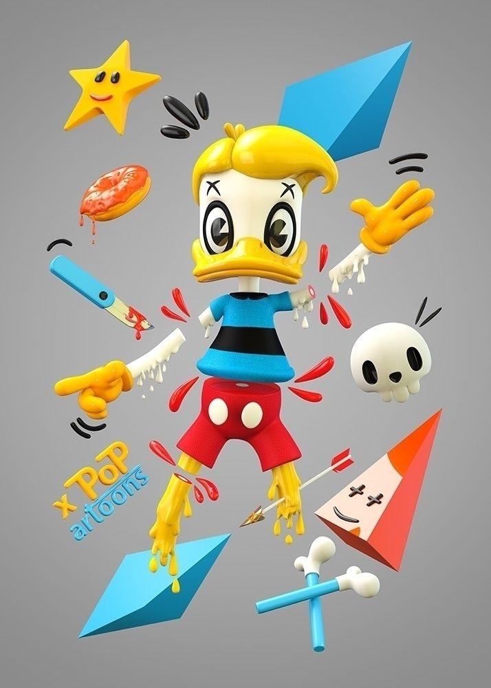 Duckey Duck! Melting - cartoons - theodoru | ello