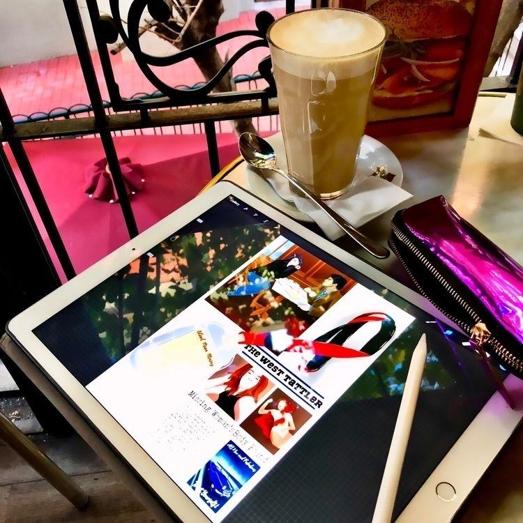 Coffee comic book drawing  - sereninspired - nightrav3n | ello