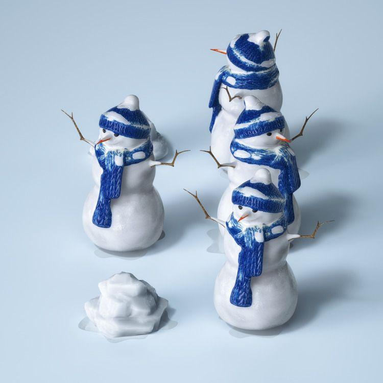 :snowman:️ - winter - braille, 36daysoftype - philiplueck | ello