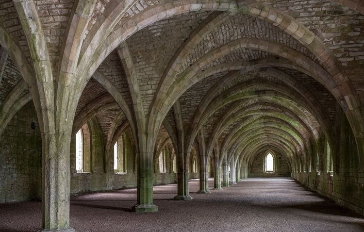 vaults Fountains Abbey North Yo - forgottenheritage | ello