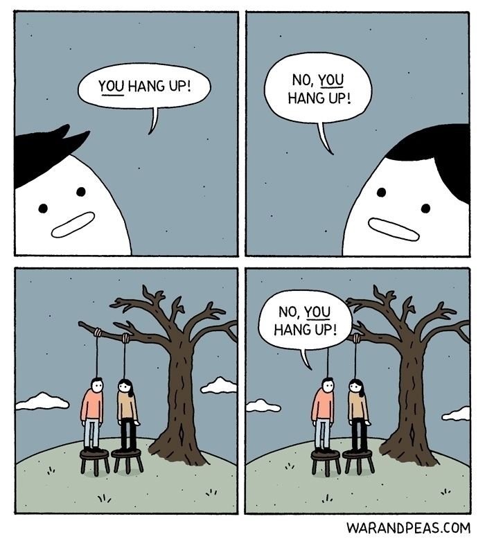 Hang  - comic, webcomic, warandpeas - warandpeas | ello