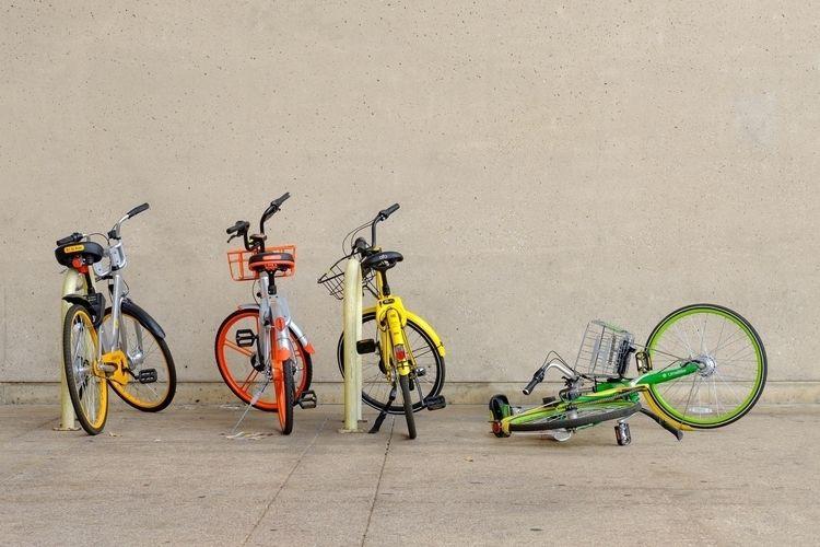 bikes eyesore Dallas - photography - timothy_hoang | ello