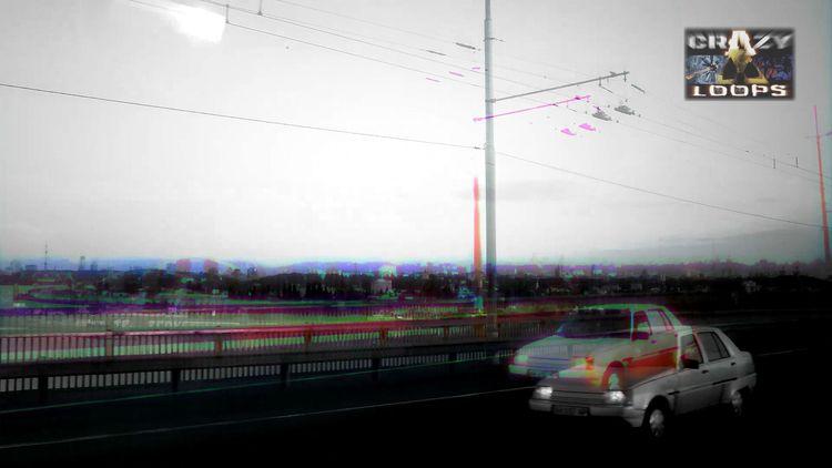 :) bridge_2 - Kyiv, bridge, cars - crazy_loops | ello
