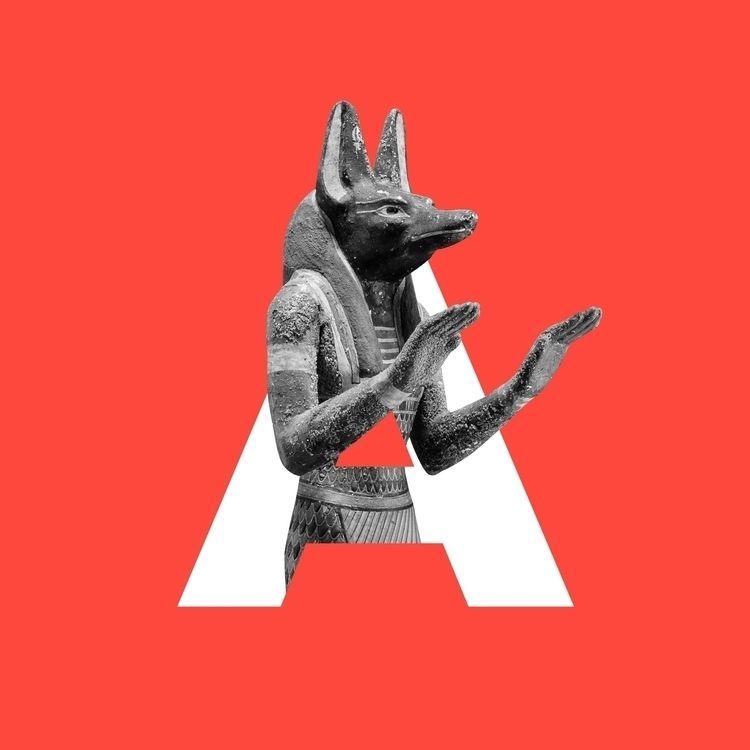 Divine Type: Anubis  - 36daysoftype - zneuta | ello