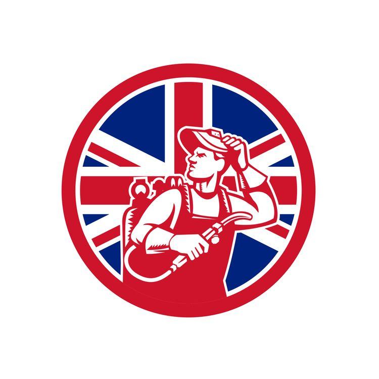 British Lit Operator Union Jack - patrimonio   ello