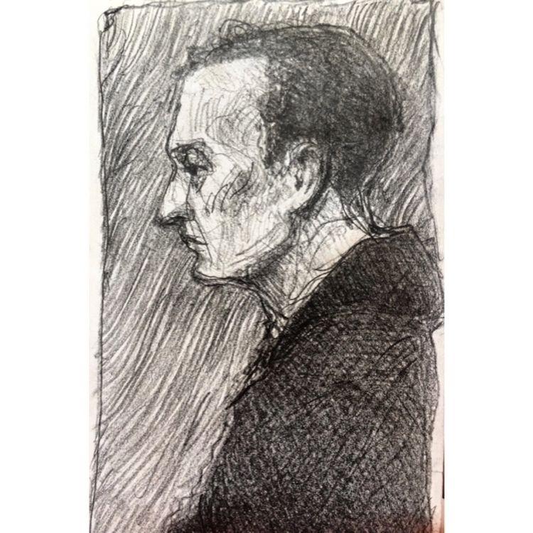 dude - graphite, draw, portrait - yuliavirko | ello