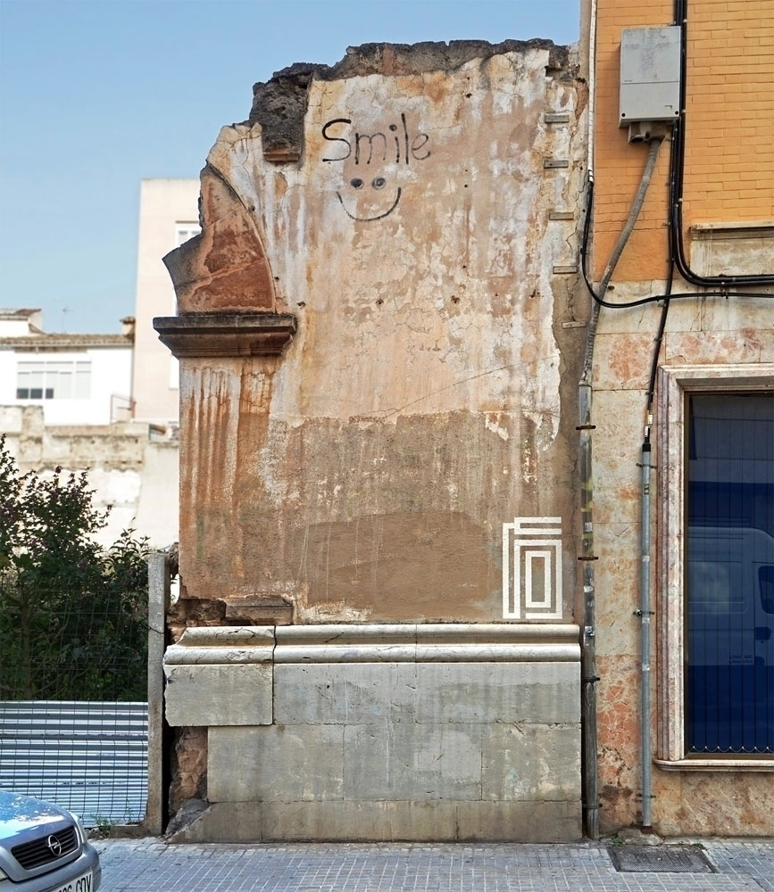 Furtive painting, Palma de Mall - eltono | ello
