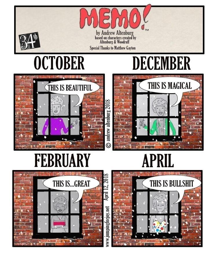 MEMO 34 strip - illustration, comicstrip - andrewaltenburg | ello