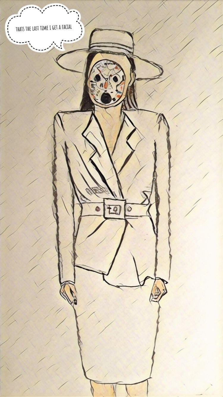 Art Tammy Tinch - trump, art, fembot - silverf0x | ello