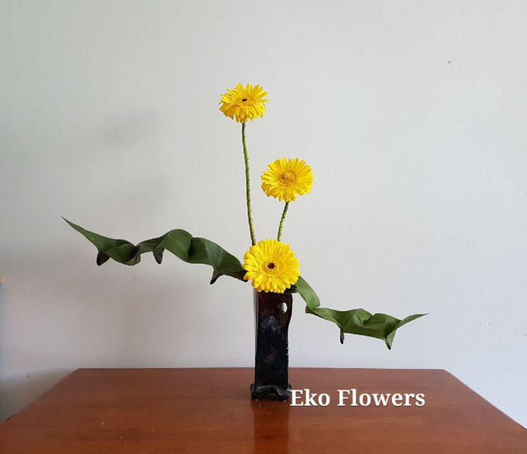 Stand tall... time hardship - ikebana - ekoflowers | ello