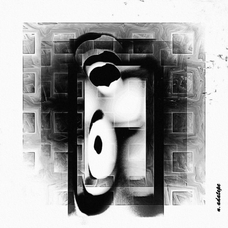 Escape - Art, Digital, people, fractal - nadatepe | ello