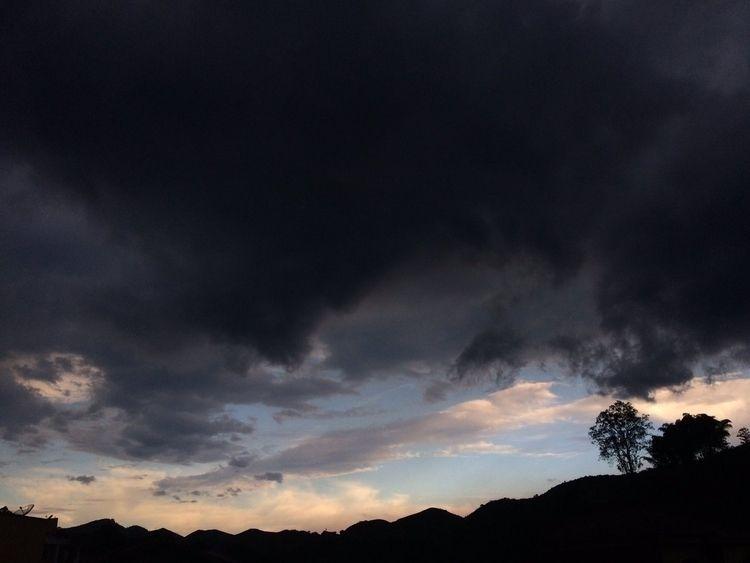 guys, view  - sky, mountains - slowdancing | ello