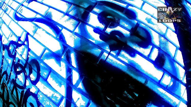 Good evening :) Acid Blue Graff - crazy_loops | ello