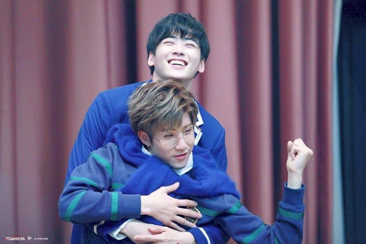 ˗ˏˋ jinjin + cha eunwoo ⊹ ˎˊ˗ - 진진 - astropics | ello