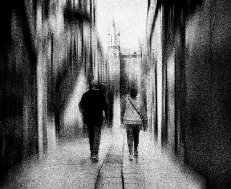 streets. white photography - ello - elhanans | ello