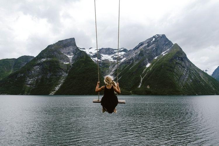 famous swing spot Norway - fairfoxes | ello