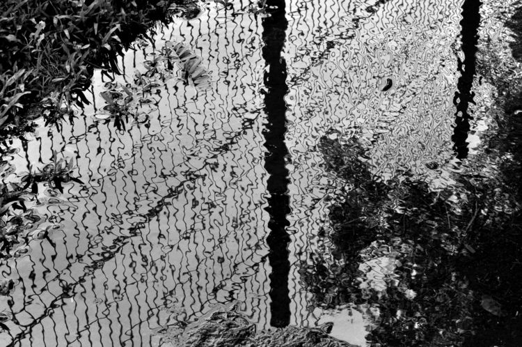 Poça - reflections, blackandwhitephotography - jsuassuna | ello