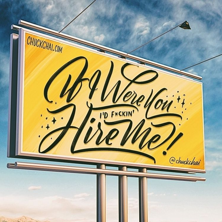 Submission belief billboard - goodtypetuesday - chuckchai | ello