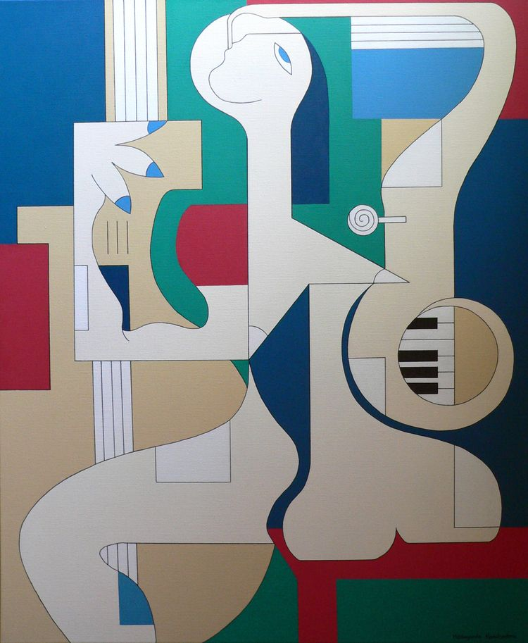 Le saxo joue le Contra-Piano Ca - hildegardehandsaeme | ello