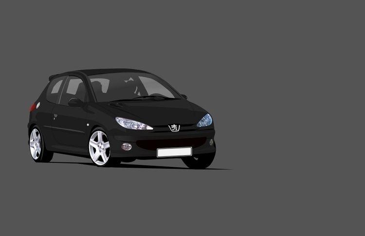Automobile illustration Peugeot - kaimetsavainio | ello