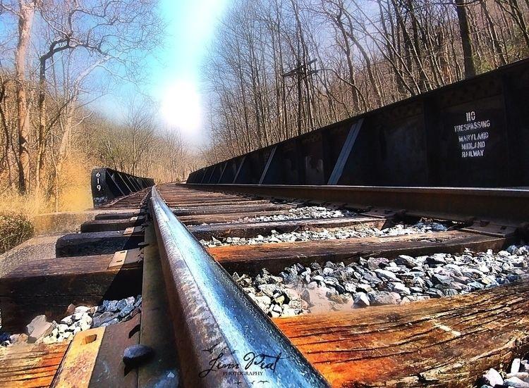 traintracks, tracks, maryland - peatypabla | ello