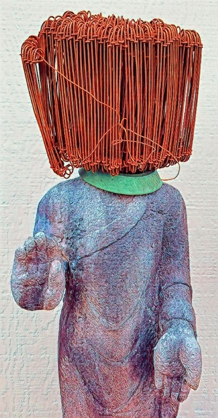 Standing Buddha series Redhead - knotter | ello