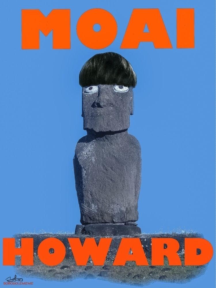 MoaiHoward,, Moai,, Howard,, MoeHoward, - bobogolem_soylent-greenberg   ello