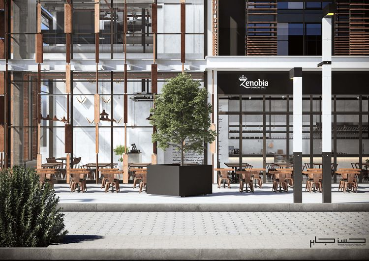 Industrial Restaurant Zenobia  - hassanjaber | ello
