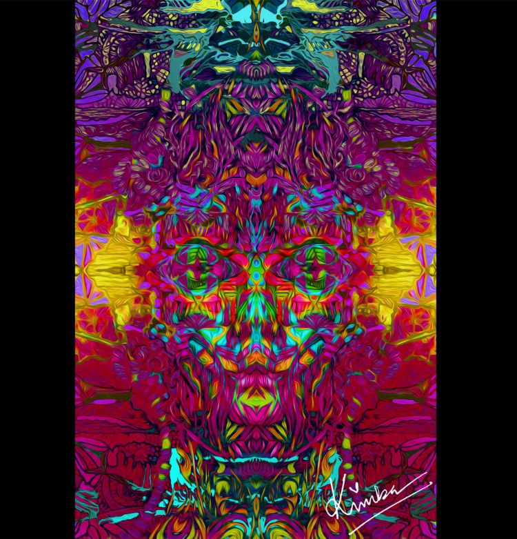 kimbaart, abstract, mixmedia - kimbahanghal | ello