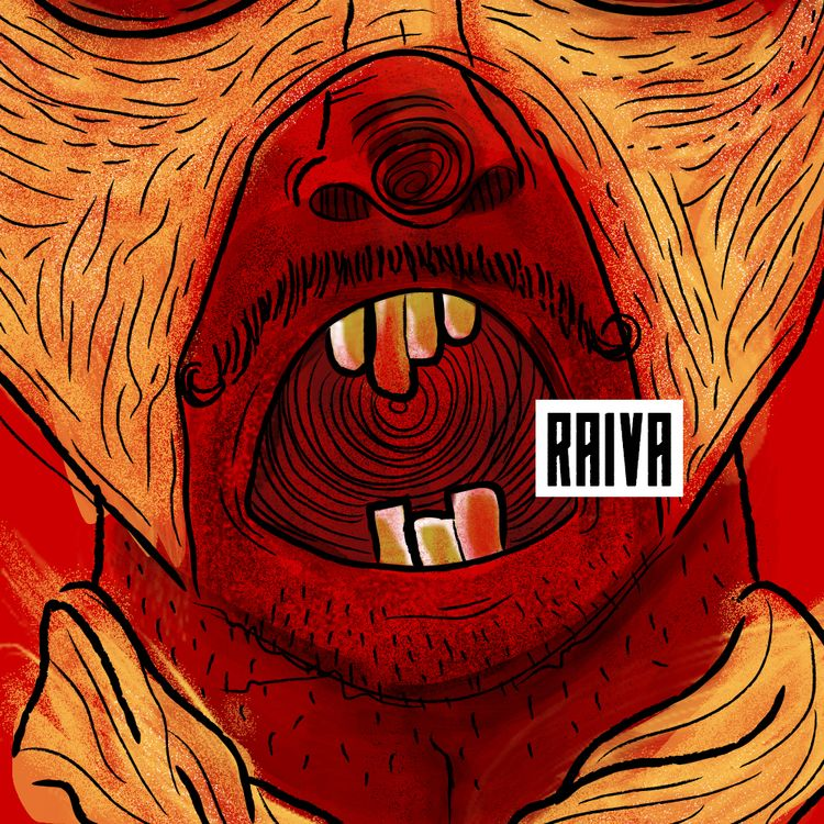 angry / illustrations coloring - gnborges | ello