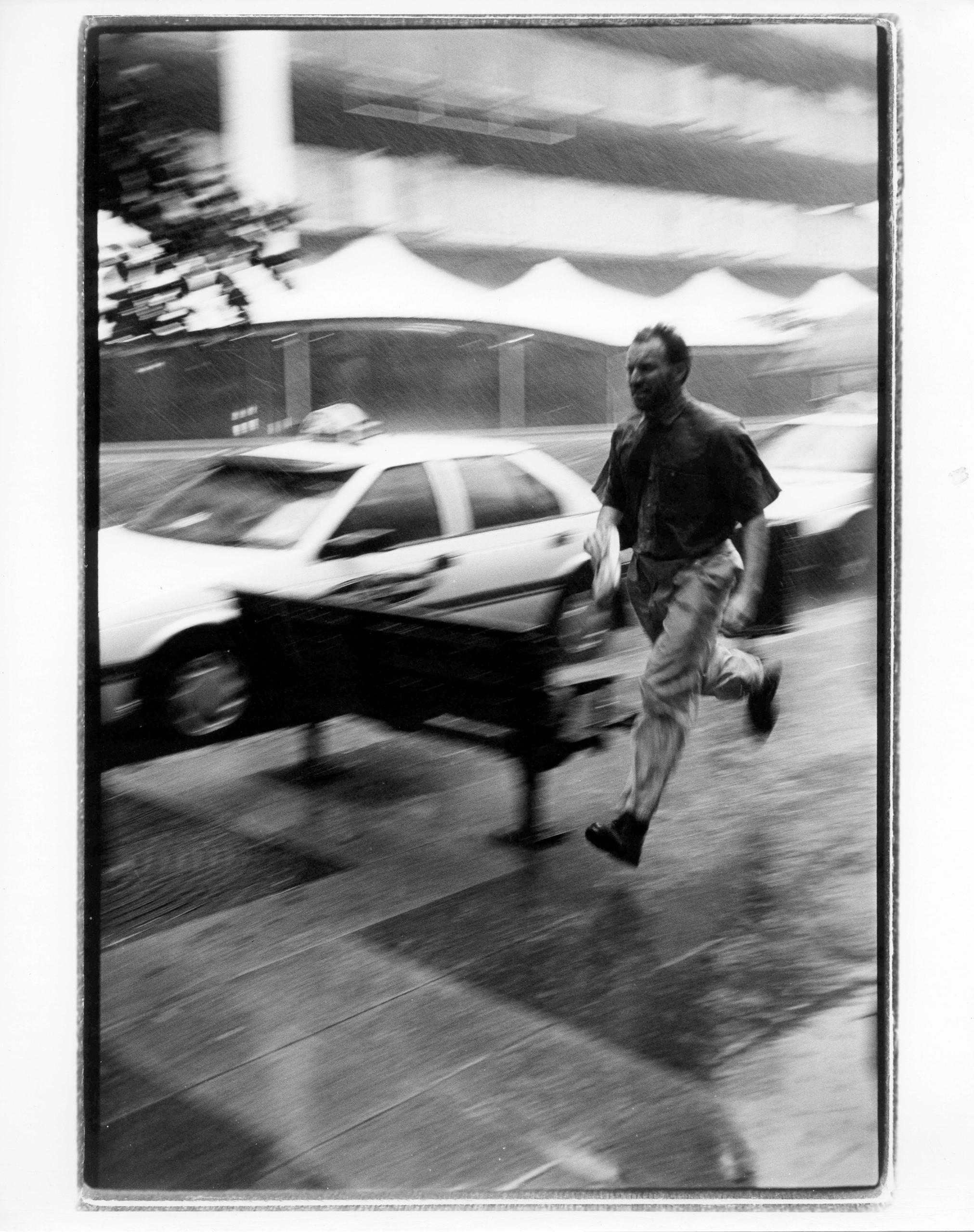 Rain Runner :copyright:Michael  - michaelfinder | ello