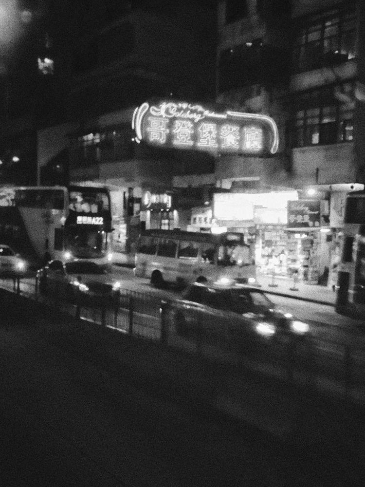 HK nights - hkframez, hongkong, blackandwhite - livetheshot | ello