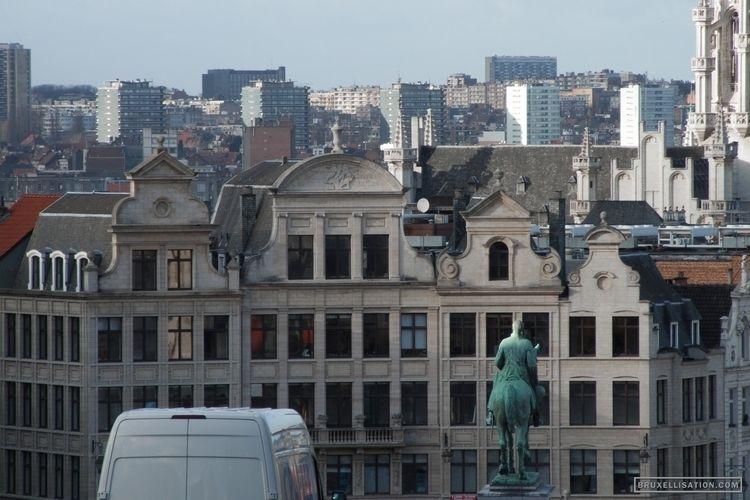 Belgium, Bruxelles, December 20 - bruxellisation | ello