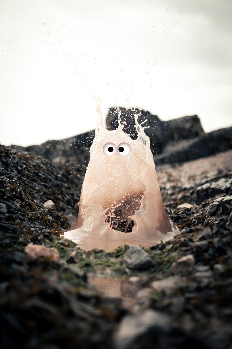 Today met surprised puddles - art - sighjones | ello