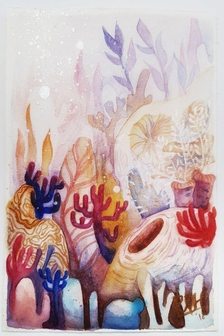 1 10: Coral • Pameran Poskad Ex - rattanhwee | ello