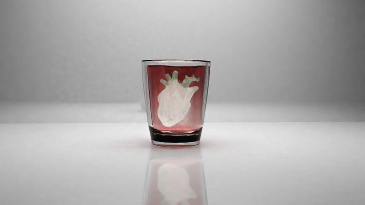 Heart glass - 3d, render, blender - aleetita | ello