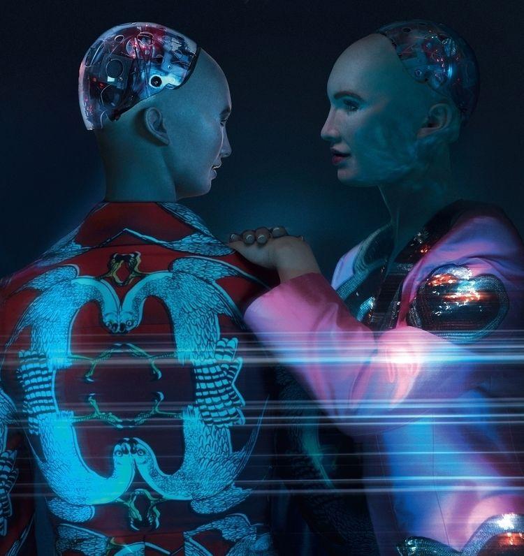 Saccenti Gucci ft Sophia robot  - tsaccenti | ello
